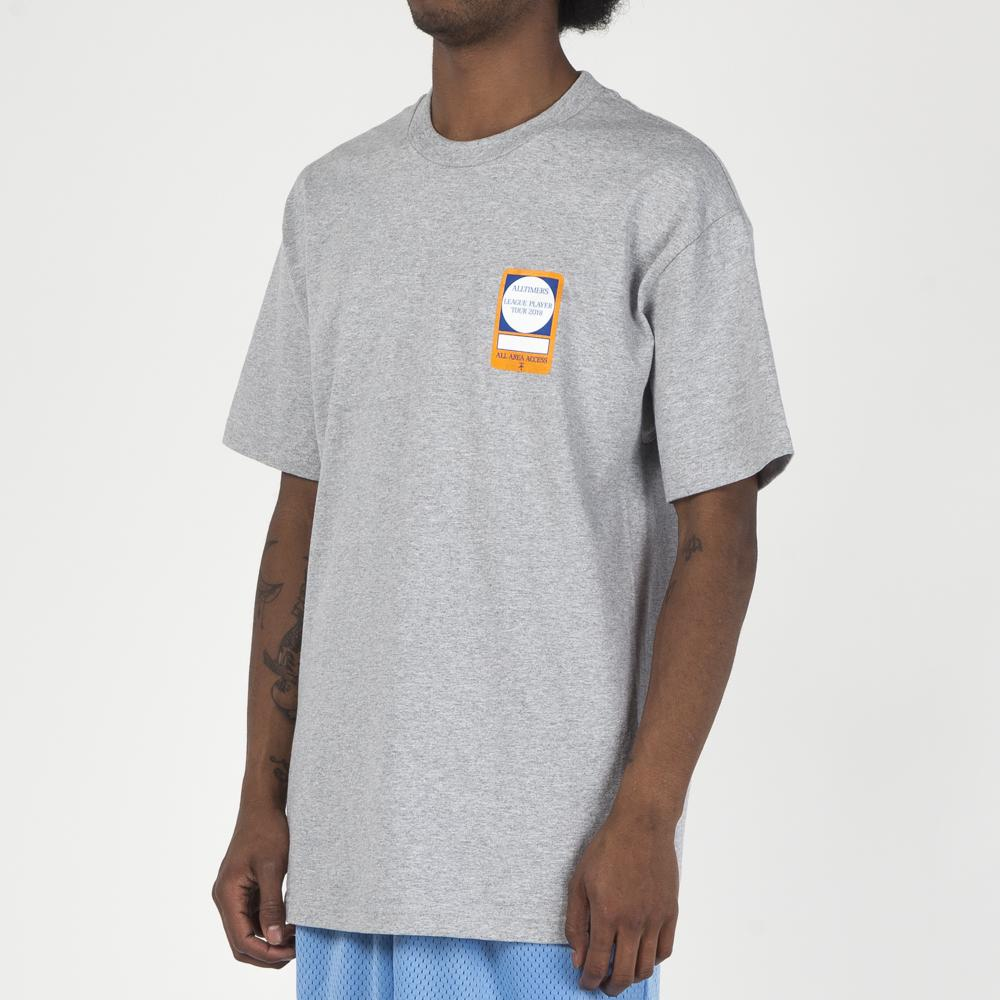 ALLTIMERS PASS T-SHIRT / HEATHER GREY