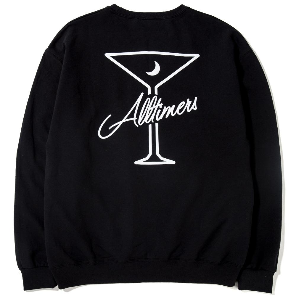 ALLTIMERS BE KIND CREWNECK / BLACK