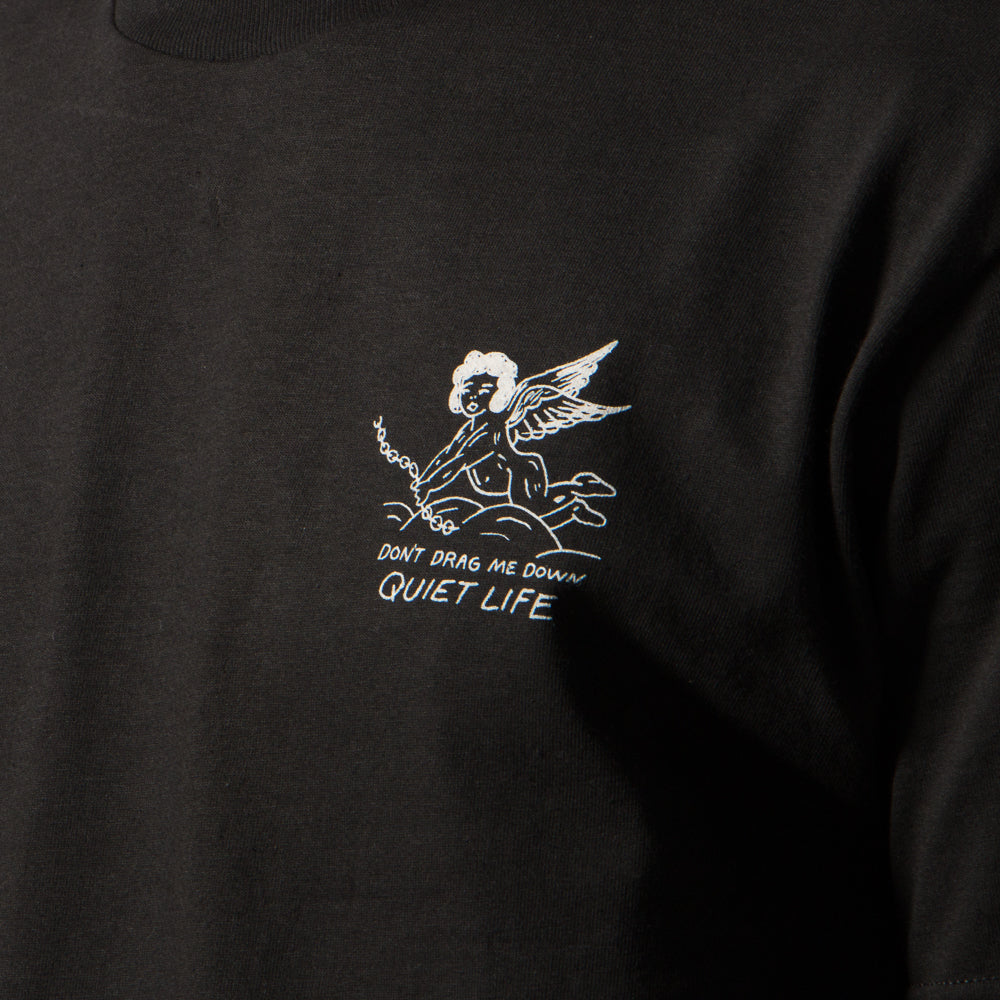 QUIET LIFE BRING ME DOWN T-SHIRT / BLACK