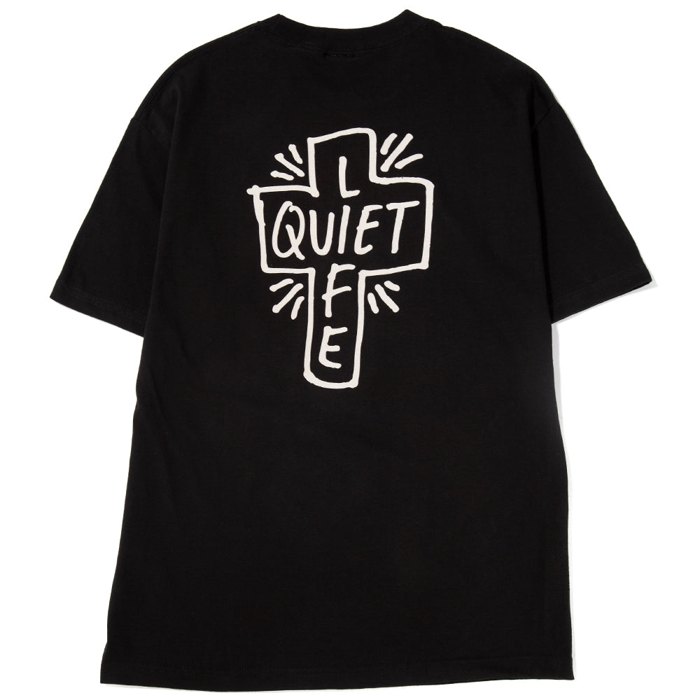 Style code 18SPD22178BLK. Quiet Life Sharpie T-Shirt / Black