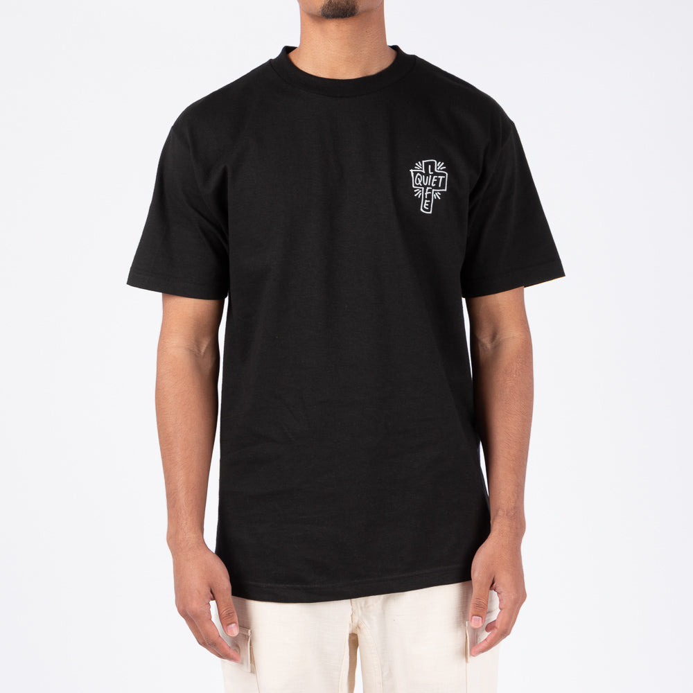 Quiet Life Sharpie T-Shirt / Black