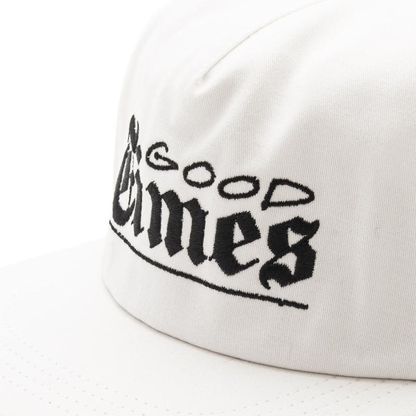 Style code 18SPD22211NAT. Quiet Life Good Times Snapback / Natural