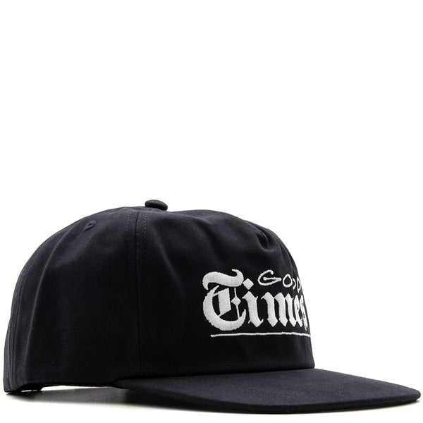 Style code 18SPD22212NVY. Quiet Life Good Times Snapback / Navy