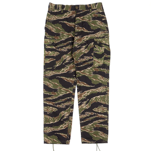 Style code 190079S18. Stan Ray Cargo Pant / Green Tiger Stripe