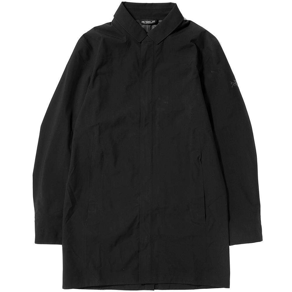 style code 19718FW17. ARCTERYX KEPPEL GORE-TEX TRENCH COAT / BLACK
