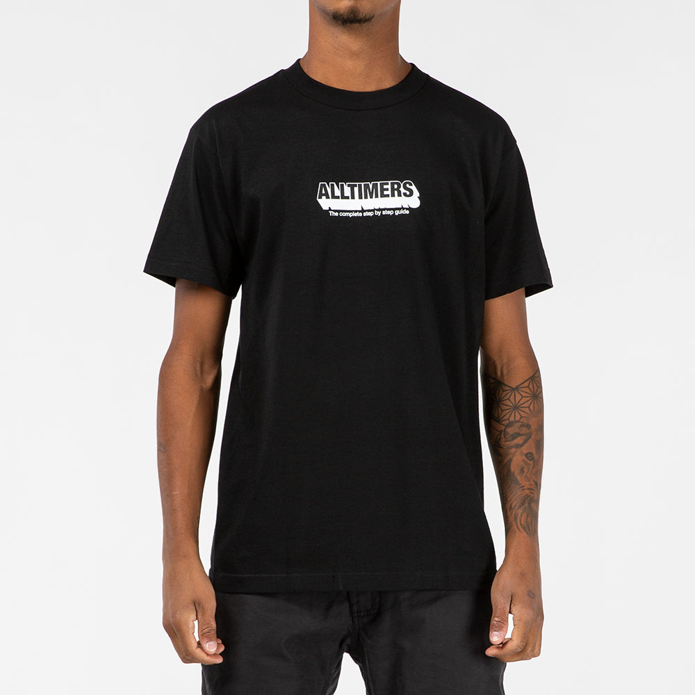 Alltimers Guide to Life T-shirt / Black - Deadstock.ca