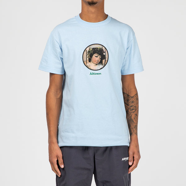 Alltimers 2 AM Wine God T-shirt / Powder Blue