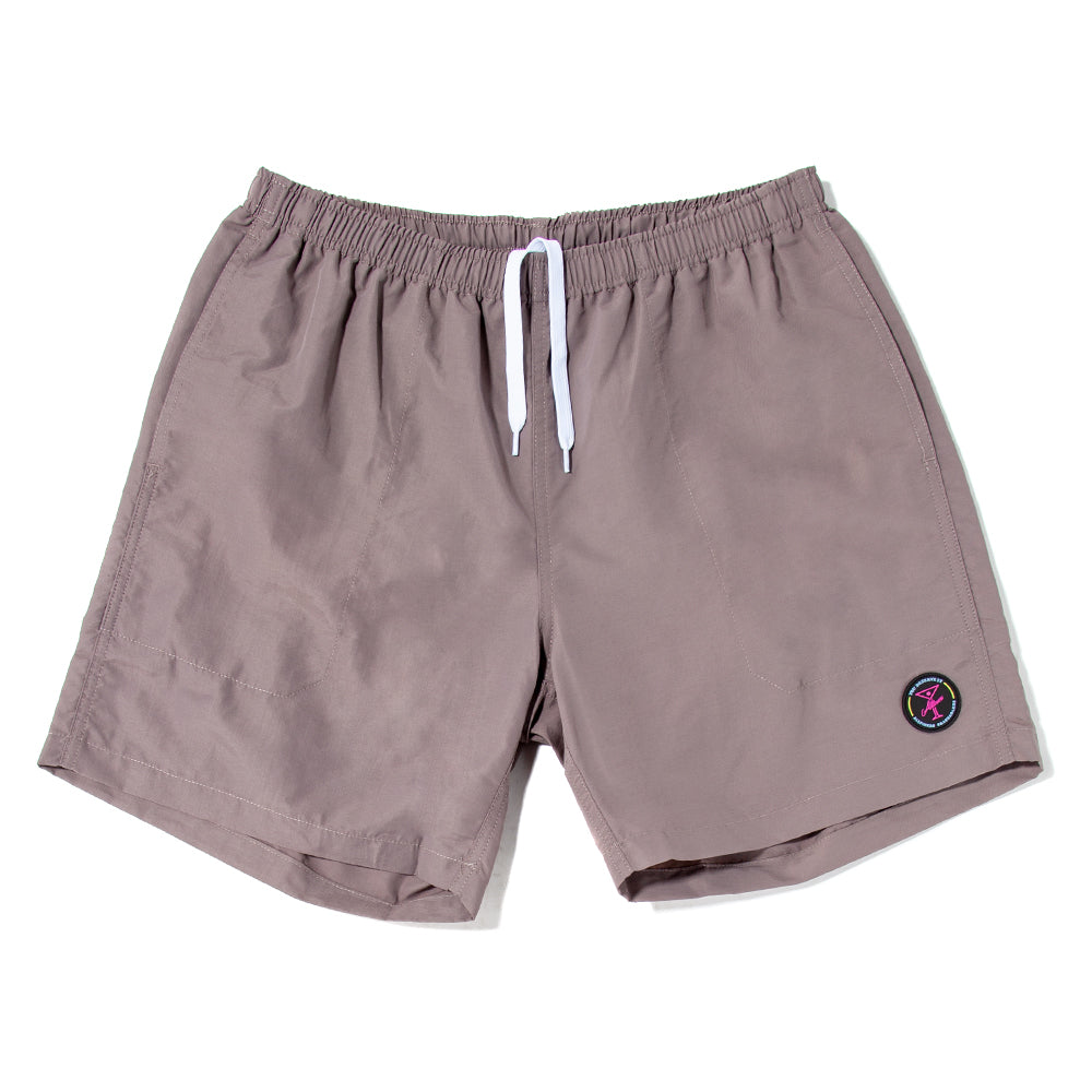 19SP02AP0802GRY Alltimers Soaked Swim Trunks / Gray
