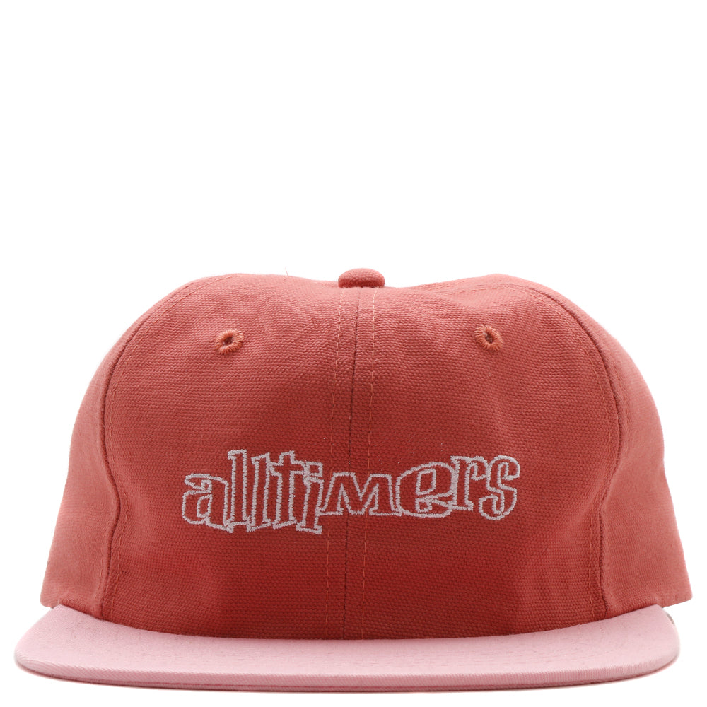 19SP02AP1101NAU Alltimers Ska Sucks Duck Canvas Embroidered Hat / Nautical Red