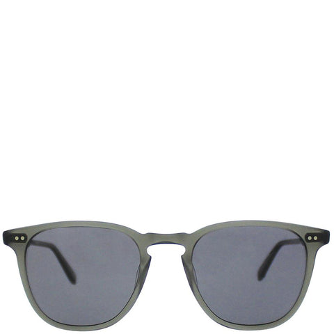 GARRET LEIGHT BROOKS SUNGLASSES / MATTE GREY