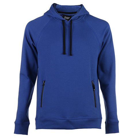 {ie PULLOVER HOODY W/ZIPPER POCKETS / ROYAL - 1