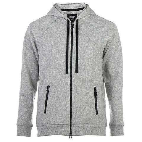 {ie ZIP UP HOODY / HEATHER GREY - 1