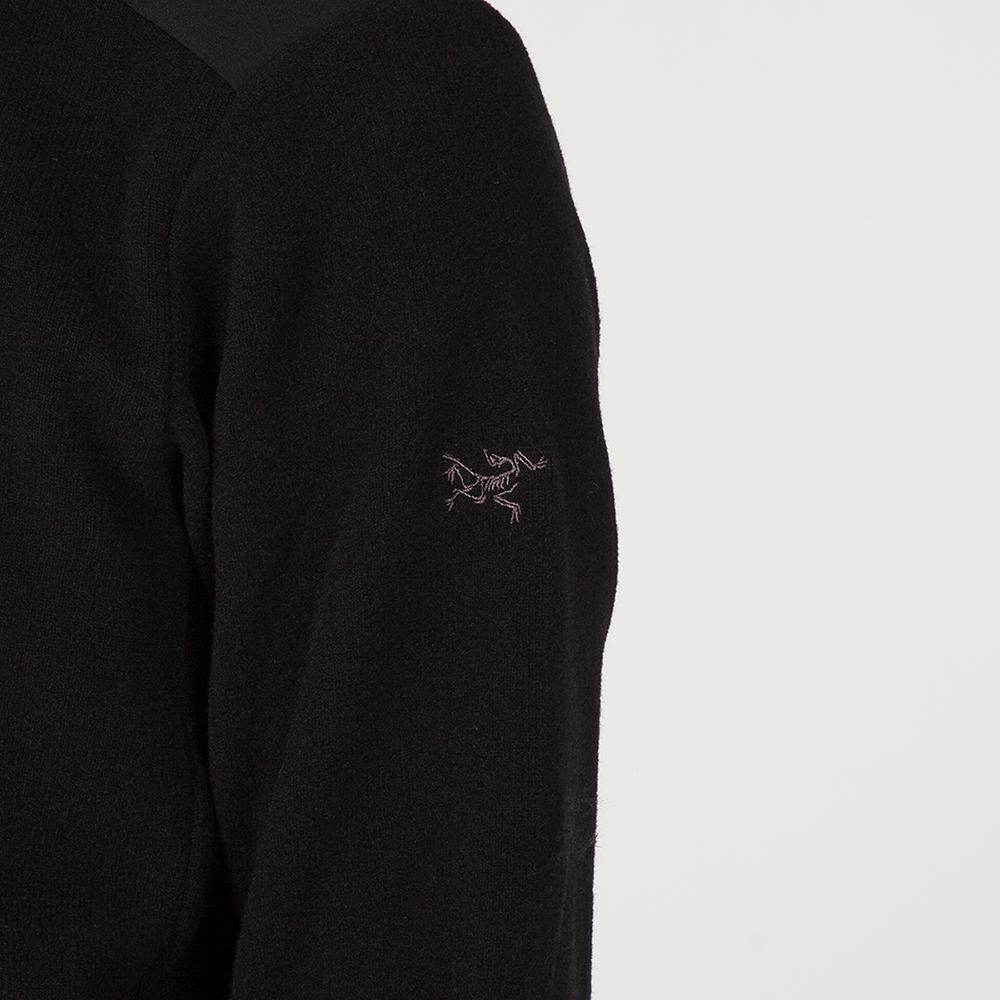ARCTERYX DONAVAN CREWNECK WOOL BLEND SWEATER / BLACK