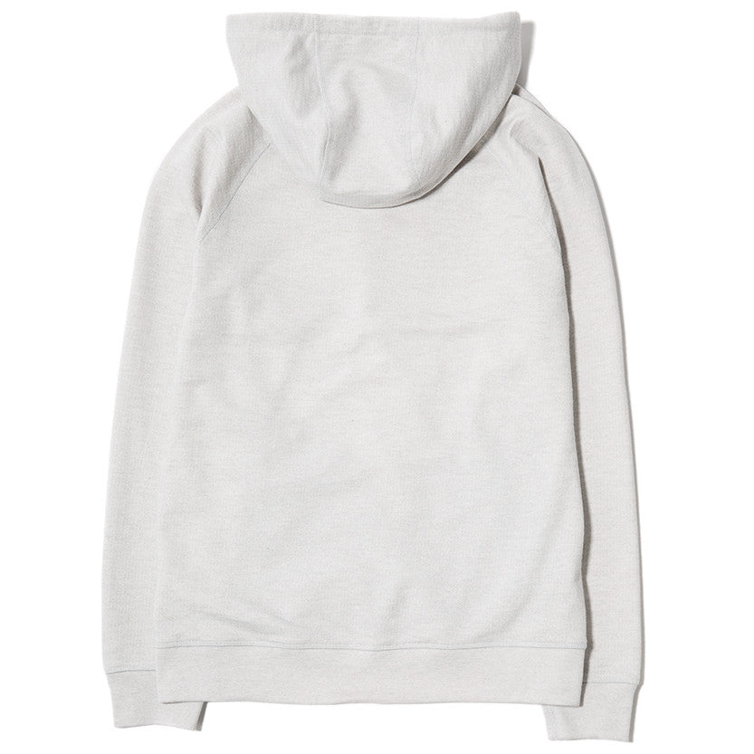 {ie SLUB FRENCH TERRY PULLOVER HOODY / CLOUD - 2