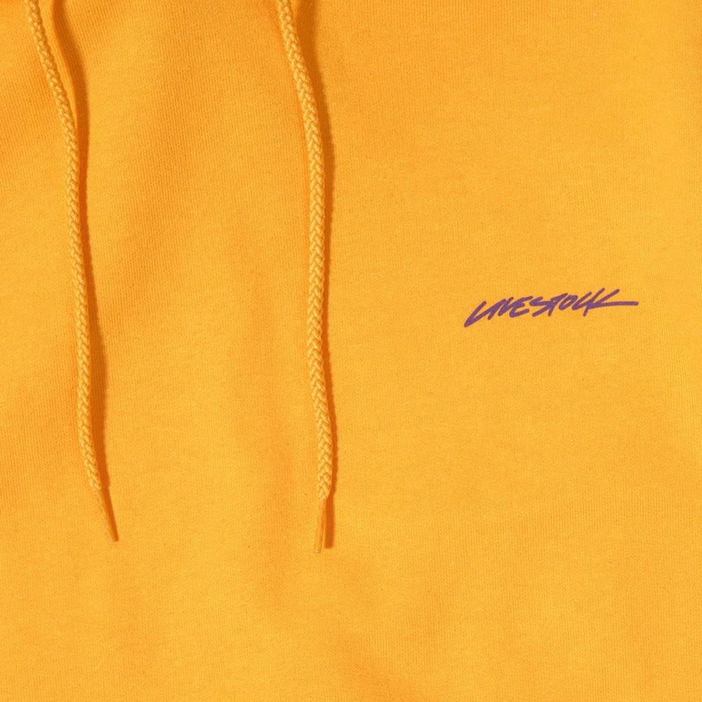 LIVESTOCK CHAMPION PULLOVER HOODIE / GOLD - 2