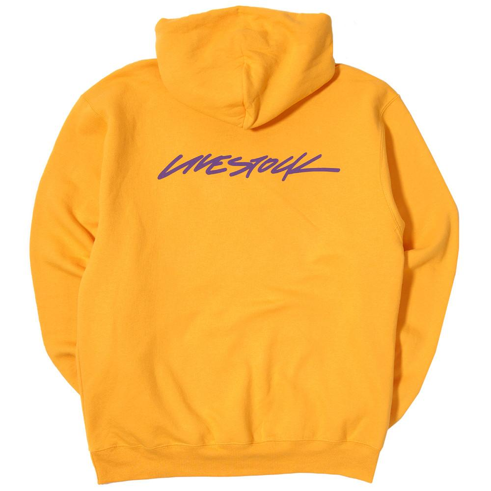 LIVESTOCK CHAMPION PULLOVER HOODIE / GOLD - 5