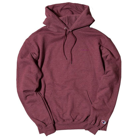 LIVESTOCK CHAMPION PULLOVER HOODIE / HEATHER MAROON - 1