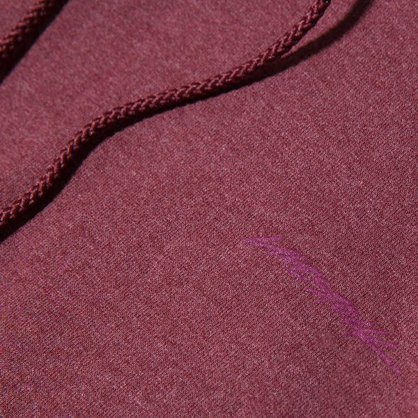 LIVESTOCK CHAMPION PULLOVER HOODIE / HEATHER MAROON - Deadstock.ca