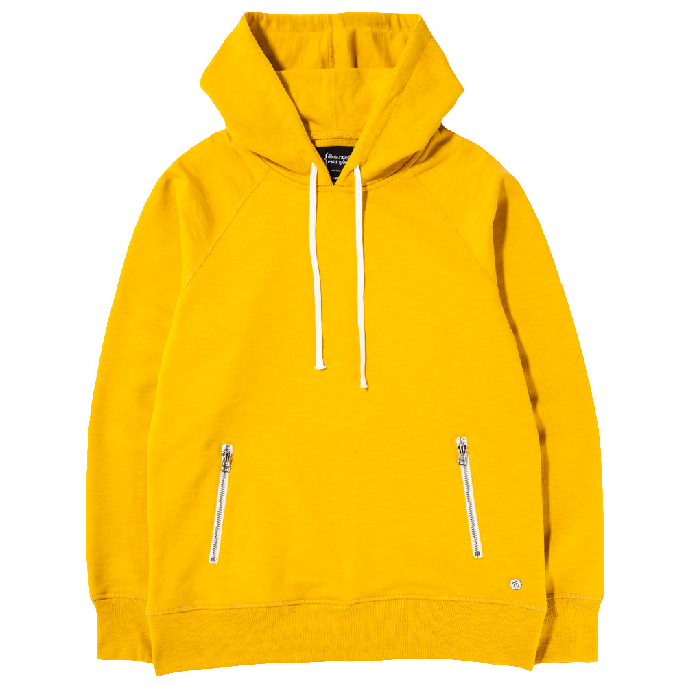 Style code 2023S18YEL. {ie PULLOVER HOODY / YELLOW