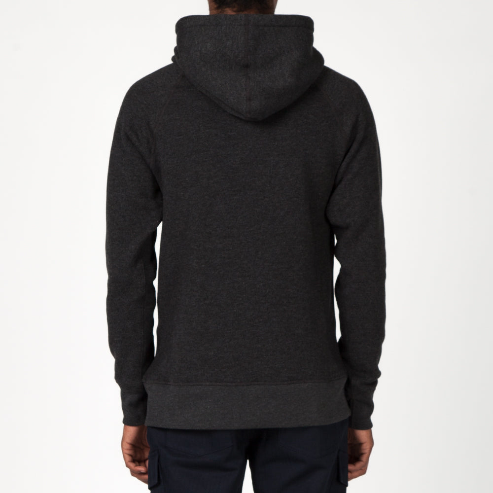 {ie PULLOVER HOODY / HEATHER CHARCOAL