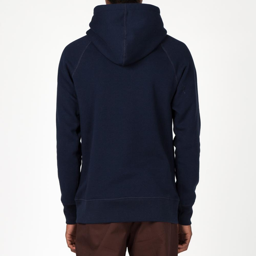 {ie PULLOVER HOODY / HEATHER NAVY
