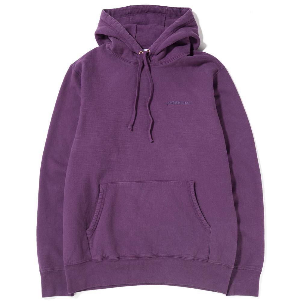 Livestock Fleece 400 GSM Pullover Hoody / Purple - Deadstock.ca
