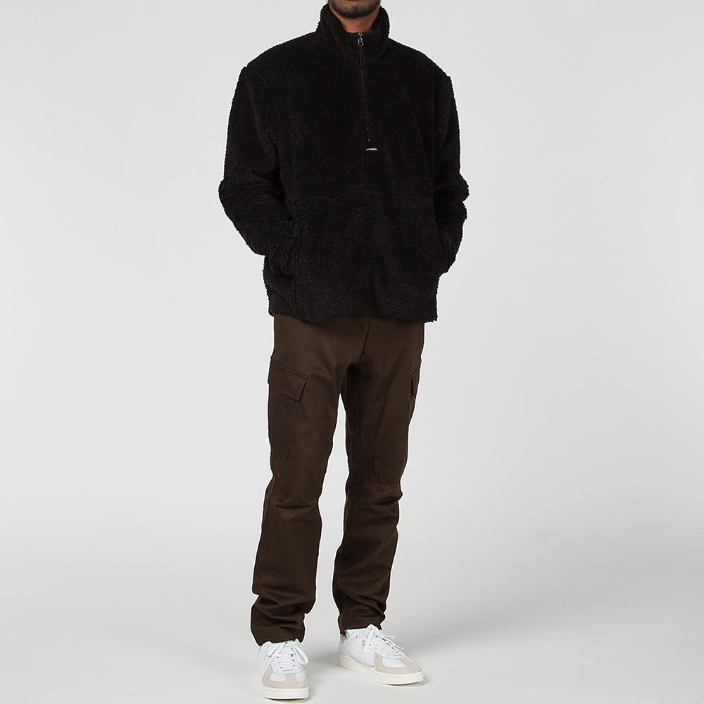 Livestock Half Zip Pile Fleece / Black