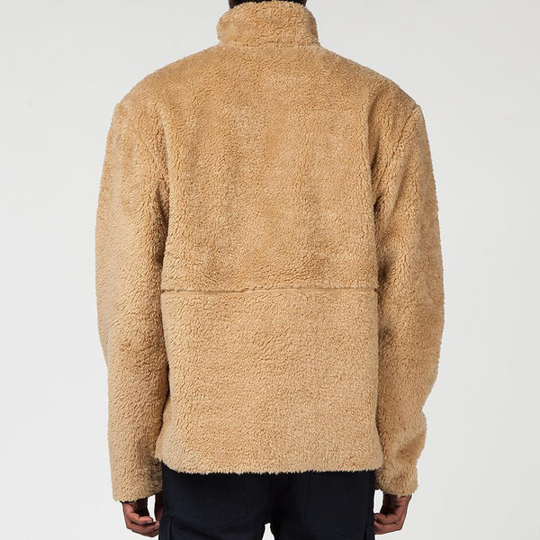 Livestock Half Zip Pile Fleece / Tan