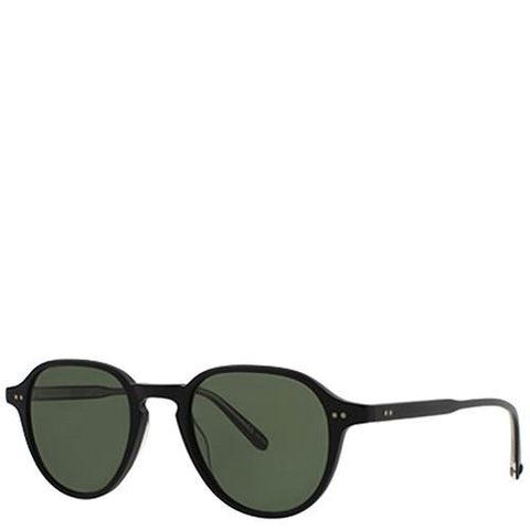 GARRETT LEIGHT DEWEY SUNGLASSES BLACK / PURE GREY - 1