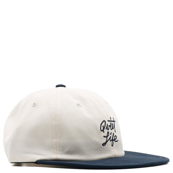 Quiet Life Script Polo Hat / Stone