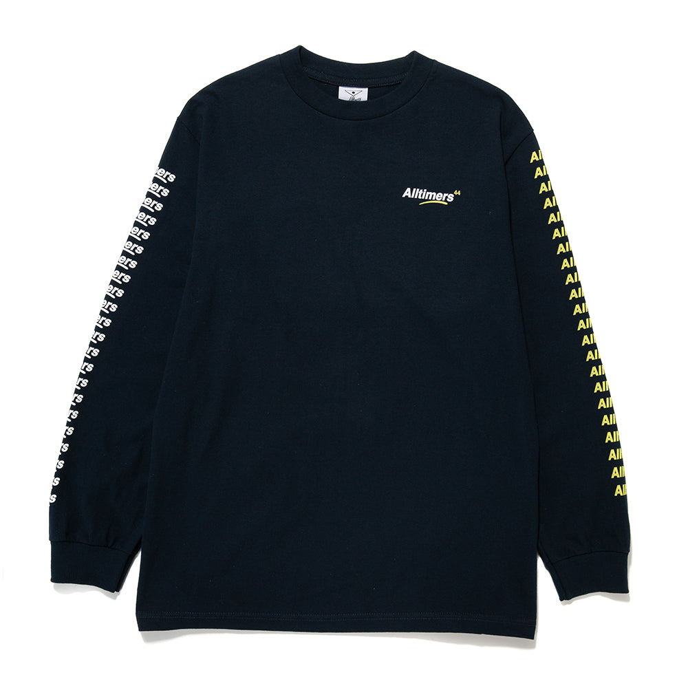 Alltimers Count It Up Long Sleeve T-shirt / Navy