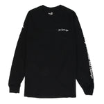 Quiet Life Now Today Tomorrow Long Sleeve T-shirt / Black