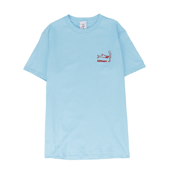 Alltimers Shark Dick T-shirt / Pacific Blue