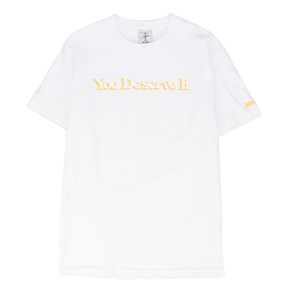 Alltimers You Deserve It T-shirt / White