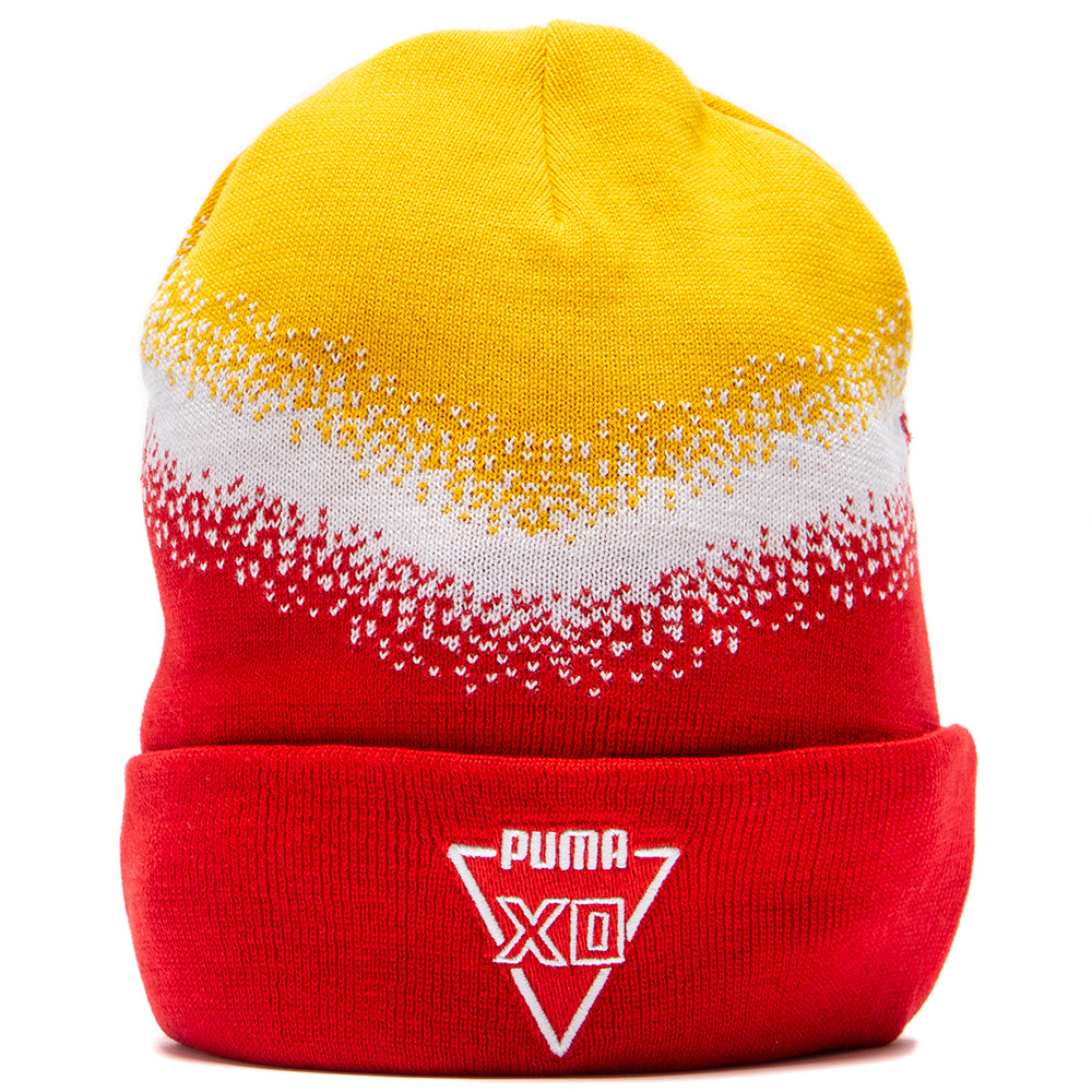 Style code 2205902. Puma x XO Homage Beanie / High Risk Red