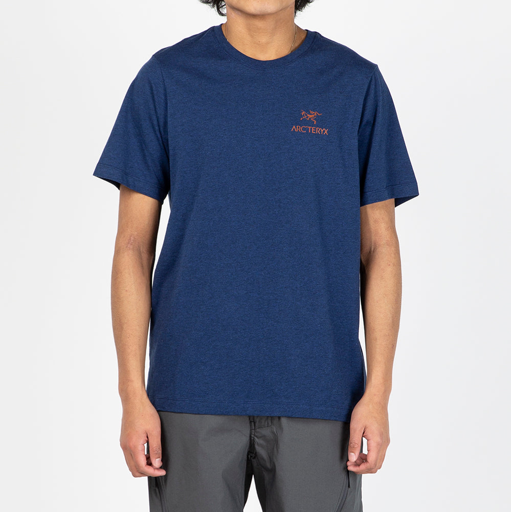 Arc'teryx Emblem T-shirt / Hubble Heather