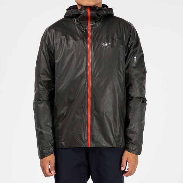 Arc'teryx Norvan SL Insulated Hoodie Jacket Black / Infrared - Deadstock.ca