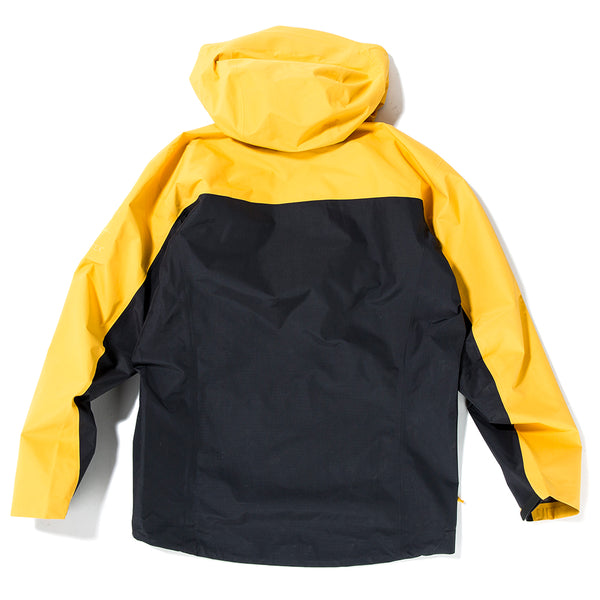 Arc'teryx Alpha SL Pullover Jacket Exclusively For Livestock / Concrete Amber - Deadstock.ca