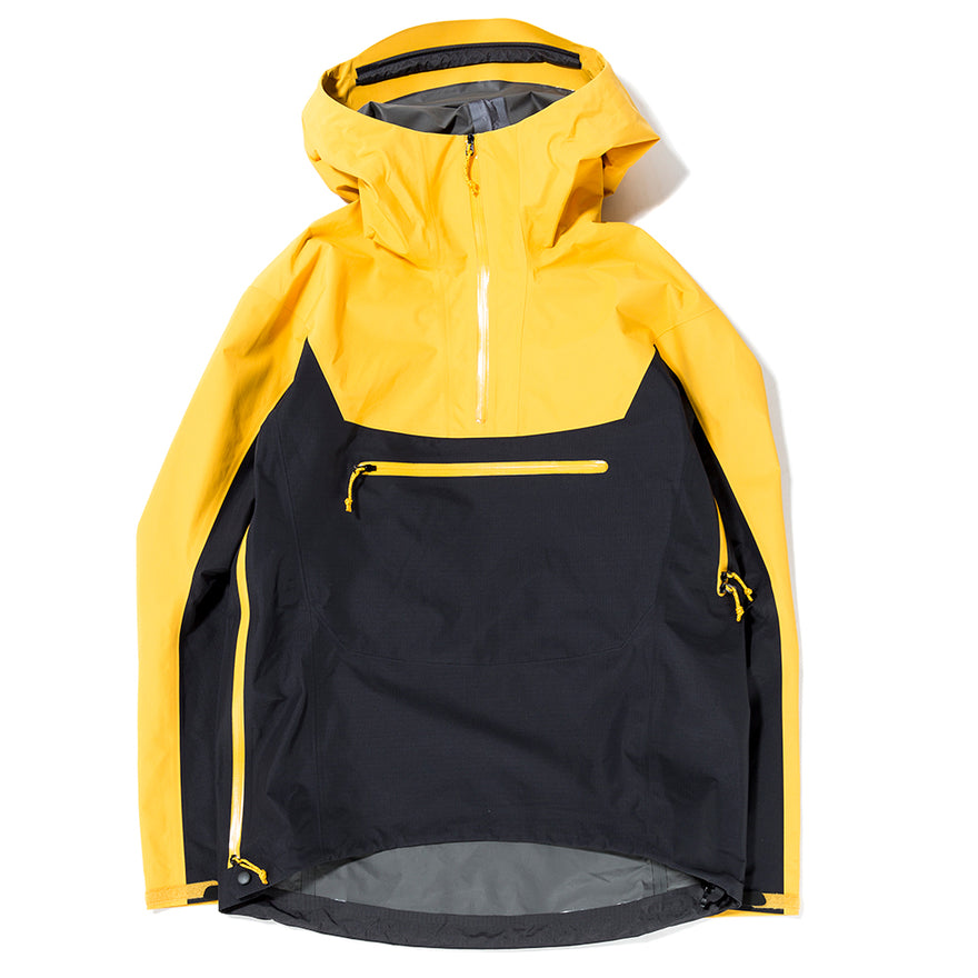 5c49579a5 Arc'teryx Alpha SL Pullover Jacket Exclusively For Livestock / Concrete  Amber