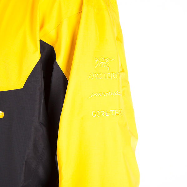Arc'teryx Alpha SL Pullover Jacket Exclusively For Livestock / Concrete Amber