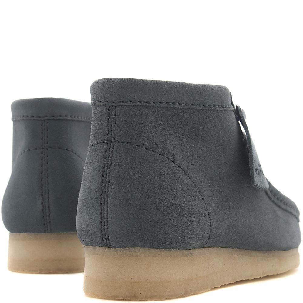 CLARKS ORIGINALS WALLABEE BOOT / SLATE BLUE SUEDE
