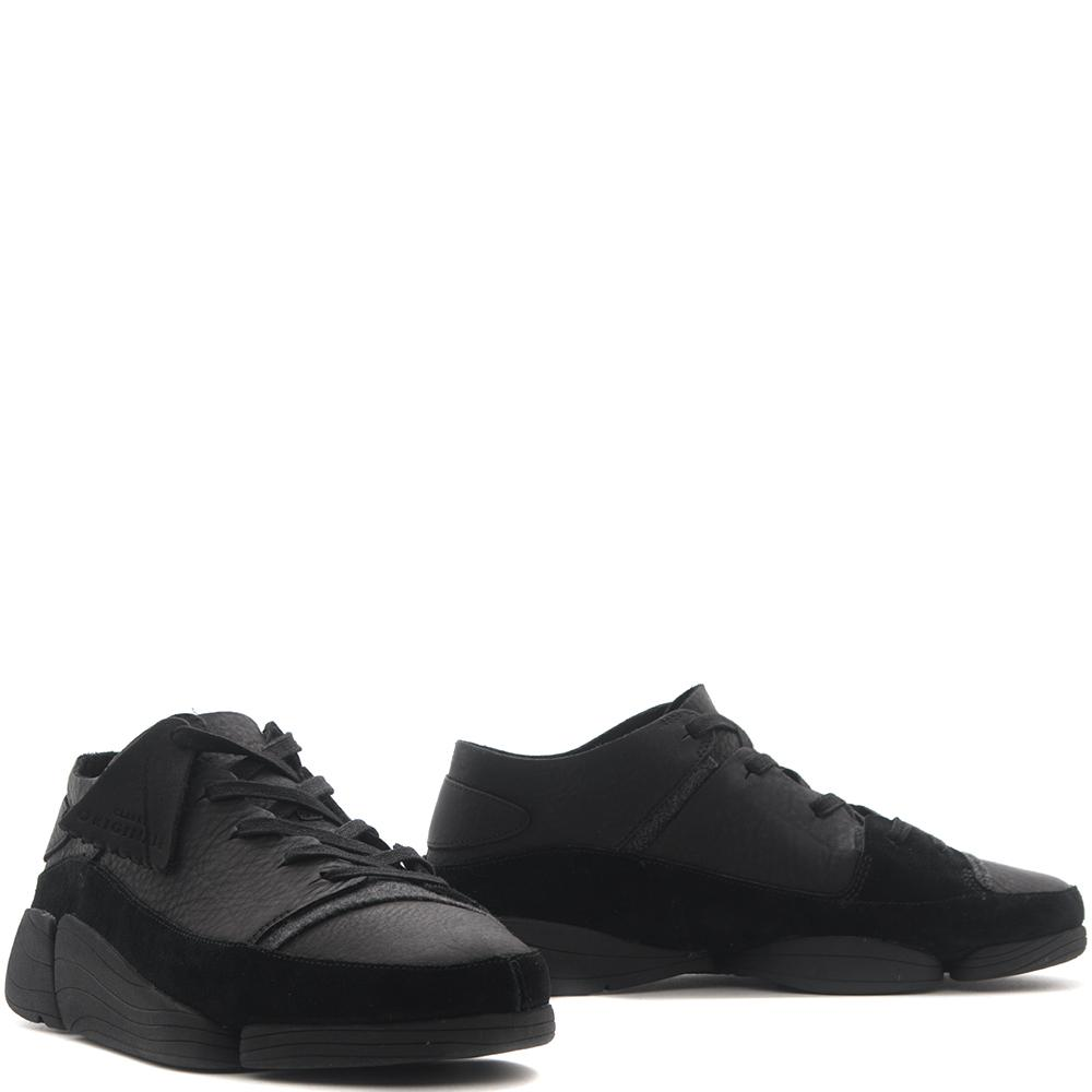 style code 26128326. CLARKS ORIGINALS TRIGENIC EVO / BLACK LEATHER