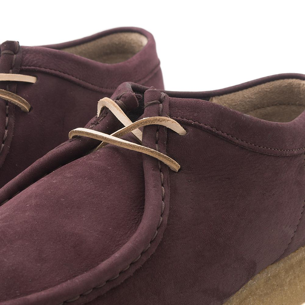 CLARKS ORIGINALS WALLABEE / PURPLE GRAPE NUBUCK