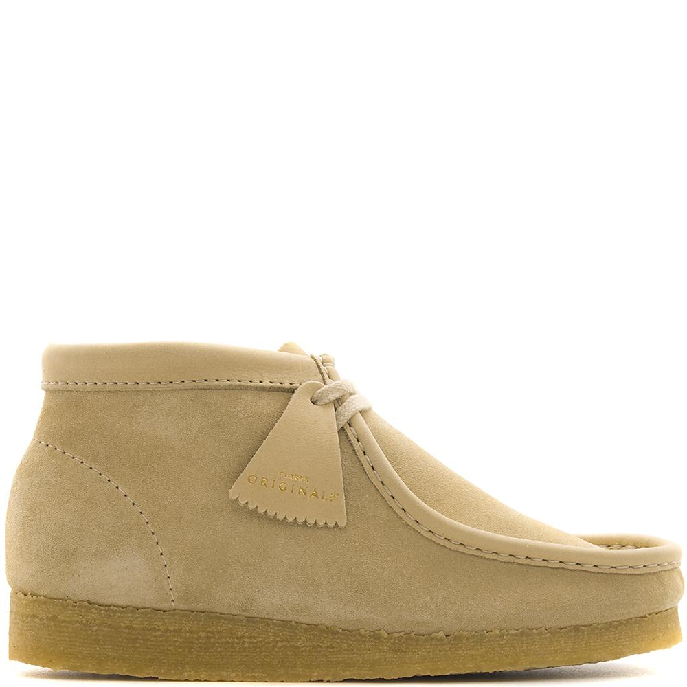 Style code 26134610. Clarks Wallabee Boot Made in Italy / Maple