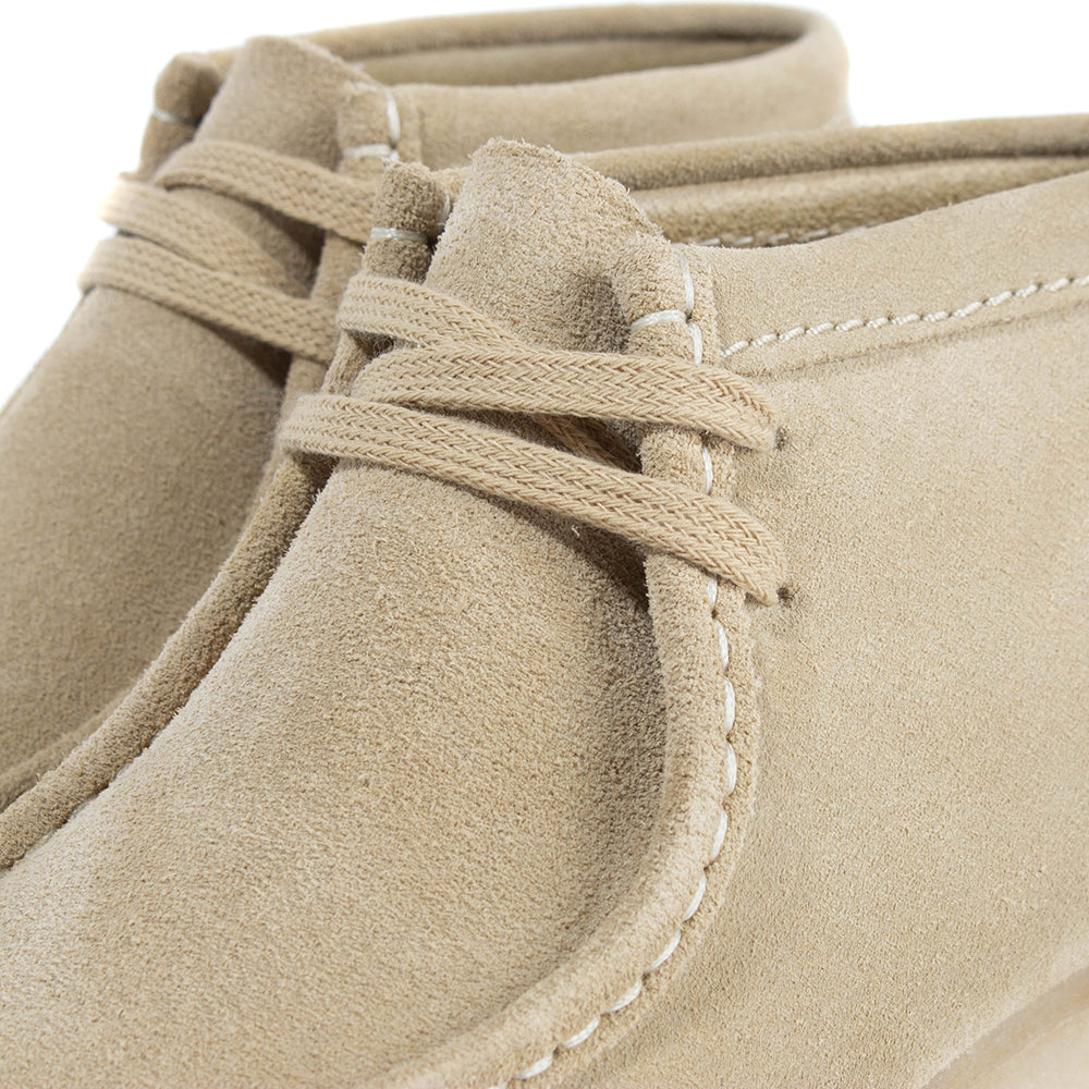 Clarks Women's Originals Wallabee Boot / Maple Suede - Deadstock.ca