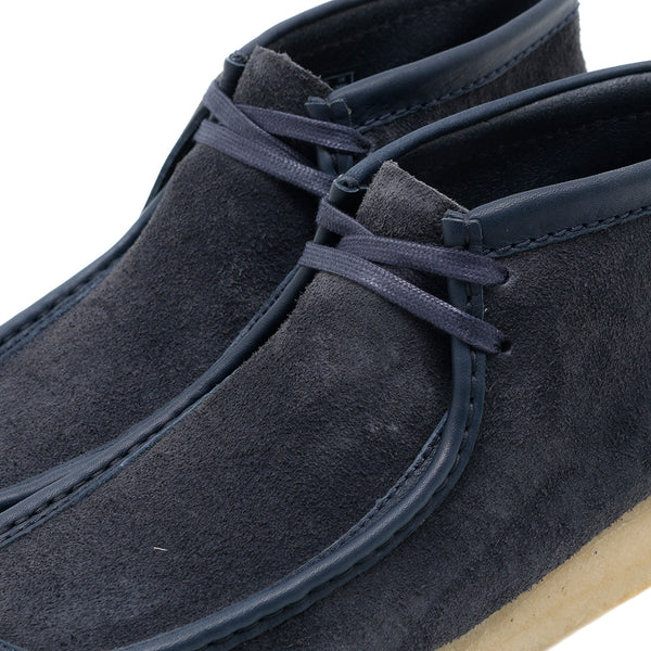 Clarks Originals Wallabee Boot / Navy Hairy Suede