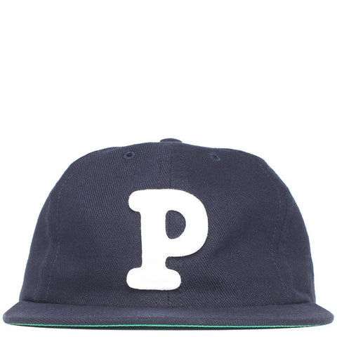 BY PARRA COLLEGE 6 PANEL HAT / NAVY BLUE - 1