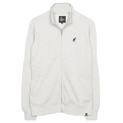 BY PARRA PIQUE FLEECE TRAINER JACKET / HEATHER GREY - 1