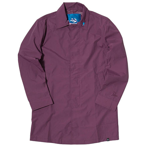 BY PARRA NYLON RAIN COAT / EGGPLANT - 1