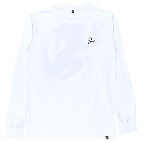BY PARRA CLUB NOT LONG SLEEVE T-SHIRT / WHITE - 1